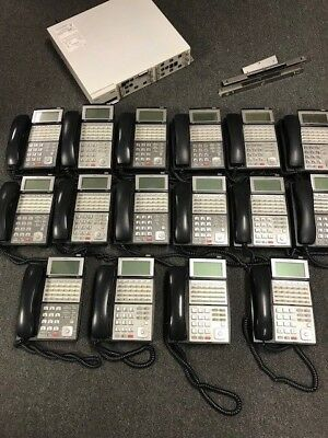 NEC UX5000 Office Phone System with Voicemail and 16 IP3NA-24TXH Phones