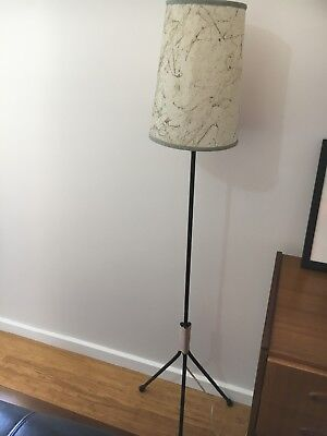 Atomic era floor lamp