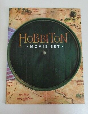 Hobbiton Movie Set Brochure with Map - 'The Hobbit' - Matamata, New Zealand