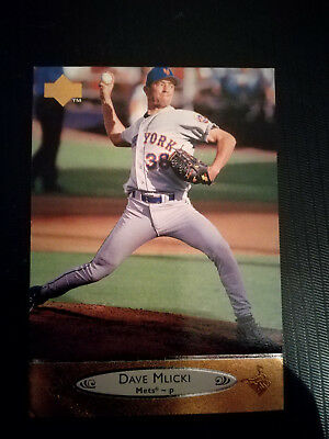 MLB Baseball Trading Card Dave Mlicki New York Mets Upper Deck 1996 #138