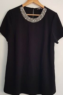 New look MATERNITY Black top size 14