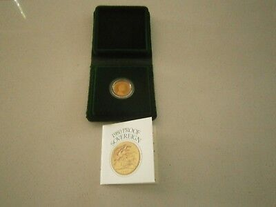 1980 UK Proof Sovereign