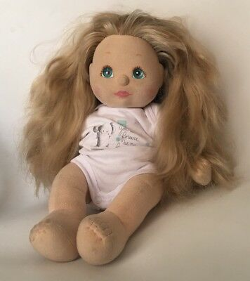 My Child Doll 1985 - 2 Tone Long Hair Blonde & Strawberry Blonde - Blue Eyes