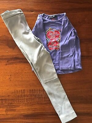 Girls Size 8 Riding Top Thomas Cook And Windsor Jodhpurs