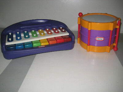 Little Tikes Xylophone/Keyboard and Drum