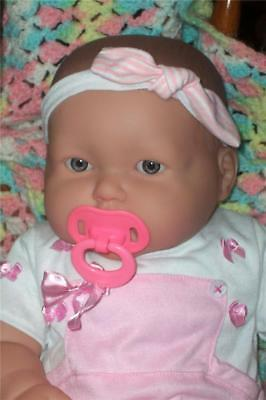 Adorable*chubby Berenguer Baby Girl Doll*shows Teeth-Clean-20 In-Great 4 Reborn
