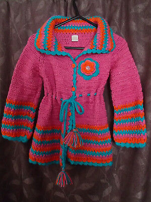Girls size 6 jacket by Eternal Creation - perfect condition,with matching beanie