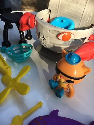 Octonauts GUP F And Lots Of Parts + Captain Barnicles
