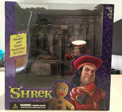 Shrek Duloc Dungeon With Sound And Water Squirting Action BNIB