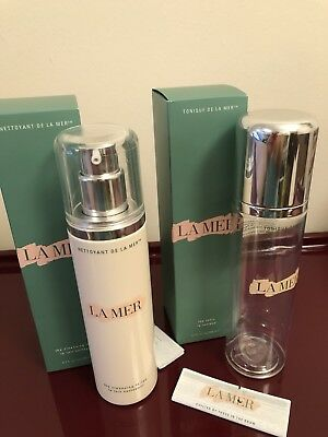 Empty Creme De La Mer Tonic And Cleansing Lotion