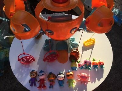 Huge Octonauts Bulk Lot: Octopod + Characters+ Accessories