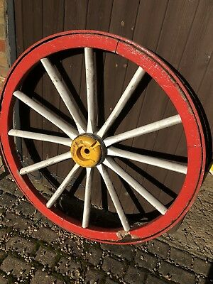 Vintage Wagon Wheel - Needs Attention But Very Striking