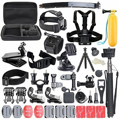 Accessories Kit Set for GoPro Hero 6 5 4 3 2 1 Session Sports Camera with Case