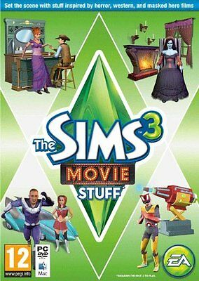 PC & MAC DVD Game The Sims 3 Movie Accessories Add On Extension NEW