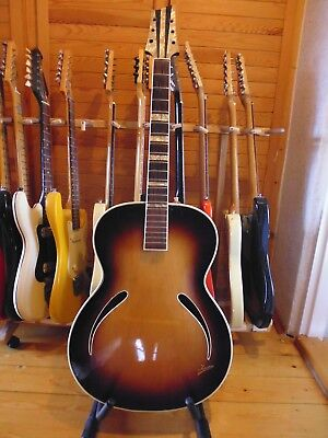 Isana vintage archtop guitar Germany 60`s