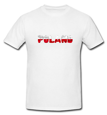 Poland Polish Pole T-Shirt Country National Map Flag Novelty Fun T-Shirt