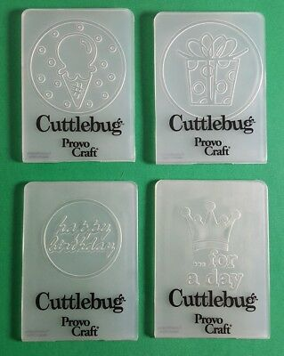 Cuttlebug Provo Craft Embossing Set Special Day 7 x 5 cm