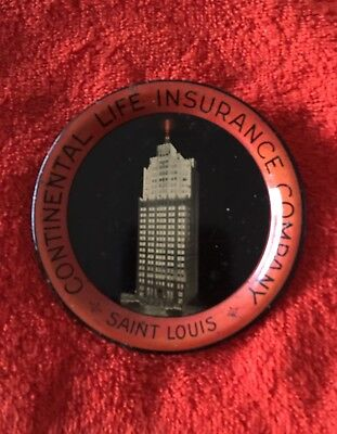 Continental Insurance Tip Tray-Saint Louis  !!