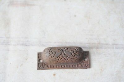 Antique Victorian Eastlake Drawer Pull Drawer Handle Window Handle