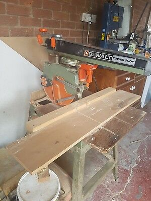 DeWalt Powershop DW125 Radial Arm Saw