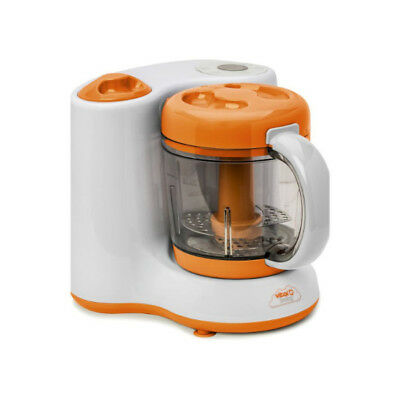 Steam & Blend Organic Feeding Puree Maker Baby Weaning Food Processor BPA Free
