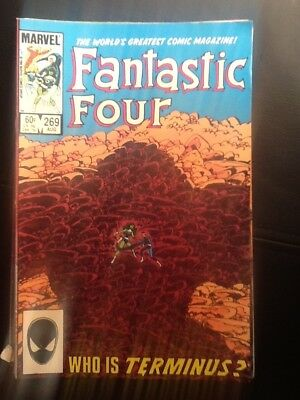 FANTASTIC FOUR #269 (Marvel Comics 1984)  BYRNE STORY & ART