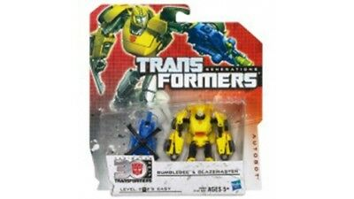 Transformers Bumblebee & Stinger Battle