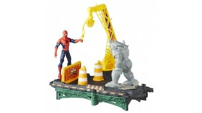 Hasbro Spiderman Sinistere Zes Bridge Battle Set
