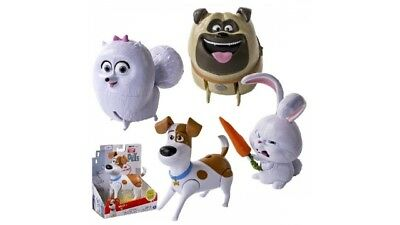 The Secret Life Of Pets Walking Talking Pets Assorti