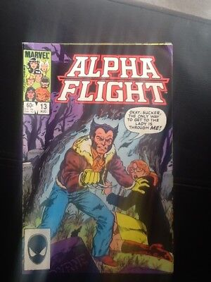Marvels Alpha Flight 13 Wolverine