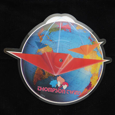 Thompson Twins  *You Take Me up* UK Shaped Picture Disc EX+