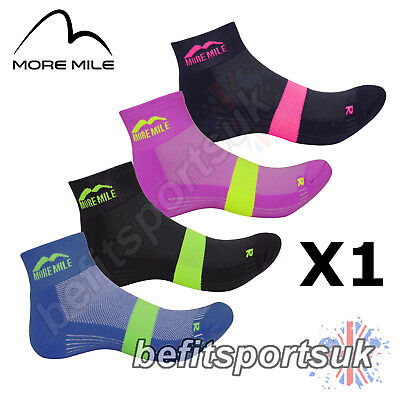 More Mile Mens Womens Ladies Preventer Twin Skin Blister Running Sports Socks 1