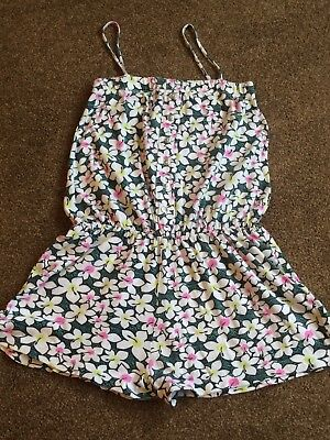 Girls Short Playsuit - Age 9-10 Years