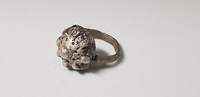 Medieval Silver Ring 10th,12the Century AD