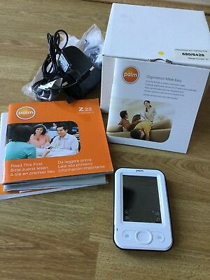 Palm Z22 Personal Handheld PDA with Accessories NEW