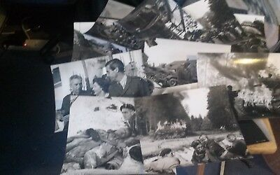 Job Lot of  Stills from They Were Not Divided (1950) Terrence Young (James Bond)