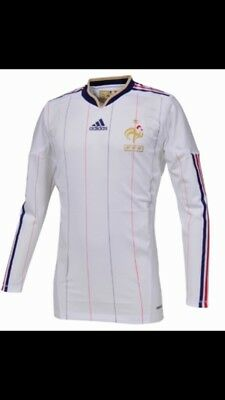 Authentic Adidas France Player Issue Techfit Shirt - Bnwt Large