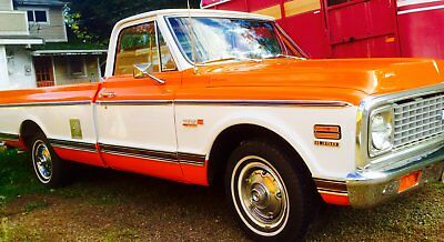 1971 Chevrolet C-10 Cheyenne 1971 Chevrolet Cheyenne 1/2ton, 2-wheel drive Long Bed