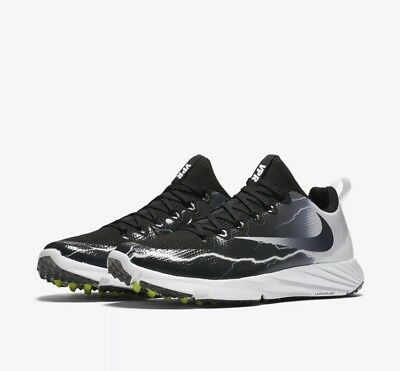 *New* Nike Vapor Speed Turf Lightning Black/White 847100-010 Men's Size 12.5