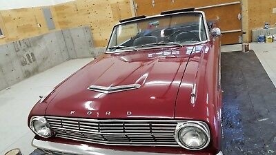 1963 Ford Falcon buckets seats with console 1963 ford falcon