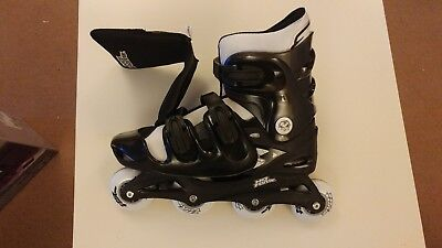 No fear roller blades/skates size 9-12 (black/white) only used once!