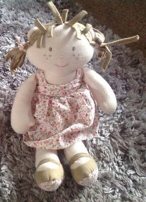 mamas and papas once upon a time berrie ragdoll soft hug toy Comforter M&P❤️