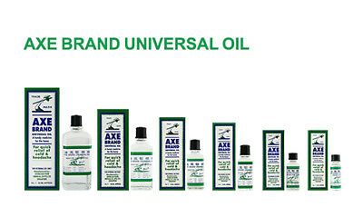 Axe brand universal oil cold headache stomachache insect bites free ship