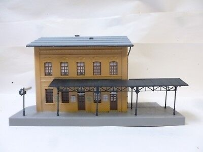 HO 00 OO gauge station building with platform u0026 canopy Kibri & 00 Gauge Station Canopies..job Lot - £21.05 | PicClick UK