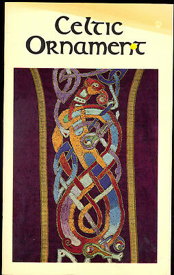 Celtic Ornament 1981 Irish Design Booklet with Gorgeous Vintage and Antique Art