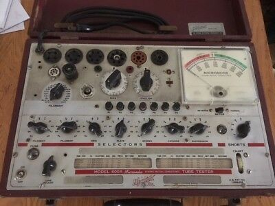 Hickok Model 600A Micromho Dynamic Mutual Conductance Tube Tester