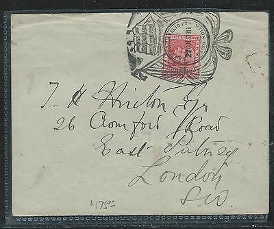 British Guiana (Pp1906B) 2C Ship On Cover Philatelic Exhibition Fancy Cancel