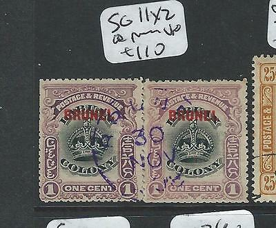 Brunei (P1701B) On Labuan   1C  Sg 11 Split Pr  Vfu