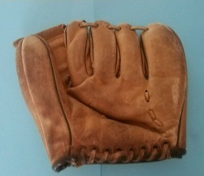 ⚾Vintage Kids Baseball Glove World Series Model Style Pocket Leather Righty Mlb⚾