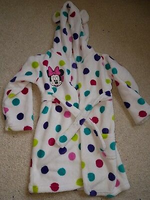 minnie mouse dressing gown 18-24 months